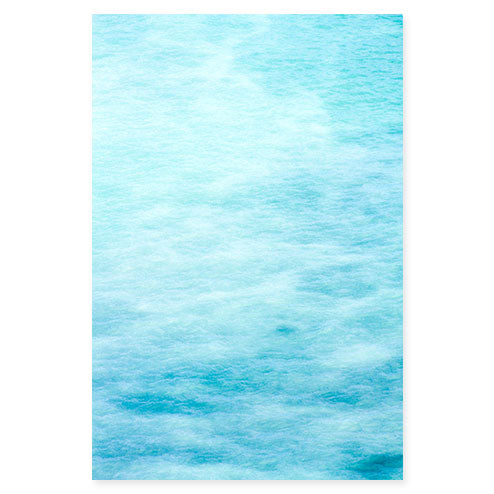 Magoito No 5 - Abstract blue fine art print by Cattie Coyle Photography