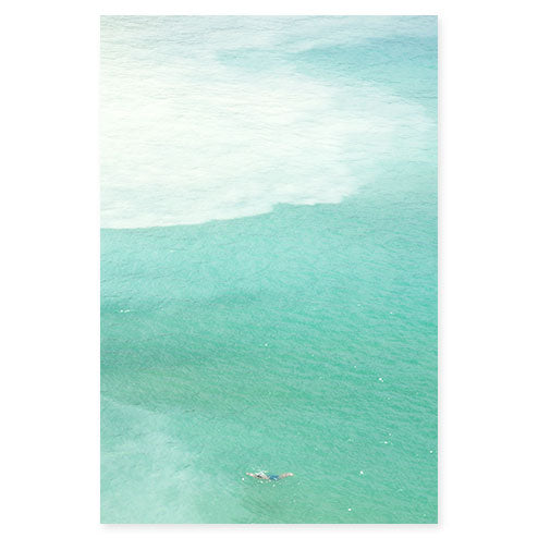 Magoito No 7 - Seafoam green ocean fine art print by Cattie Coyle Photography