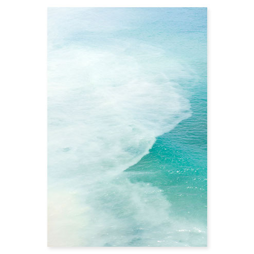 Magoito No 8 - Abstract seafoam green fine art print by Cattie Coyle Photography