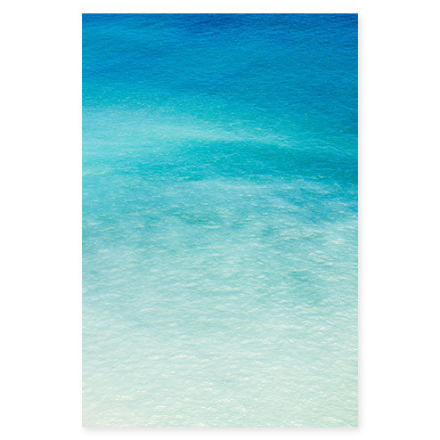 Magoito No 9 - Abstract turquoise blue fine art print by Cattie Coyle Photography