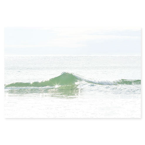 Ocean Waves No 2 - Large ocean photography print by Cattie Coyle Photography