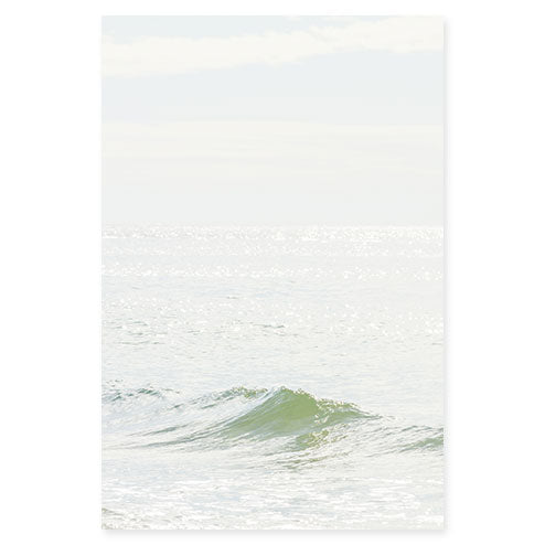 Ocean Waves No 4 - Large ocean photography print by Cattie Coyle Photography