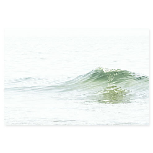 Ocean Waves No 5 - Large photography art print by Cattie Coyle Photography