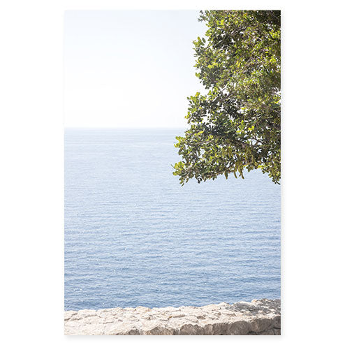 Ocean View - Mediterranean Sea wall art by Cattie Coyle Photography