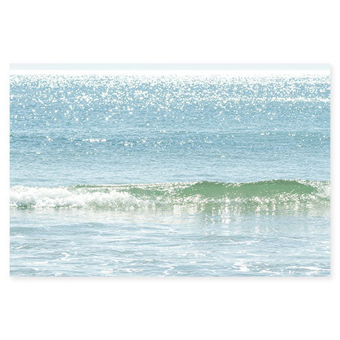 Ocean Waves No 11 - Fine art water photography by Cattie Coyle Photography
