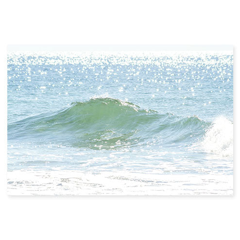 Ocean Waves No 12 - Fine art water photography by Cattie Coyle Photography