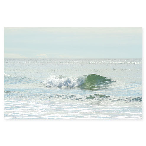 Ocean Waves No 13 - Fine art water prints by Cattie Coyle Photography