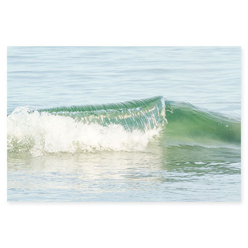 Ocean Waves No 14 - Fine art water photography by Cattie Coyle Photography