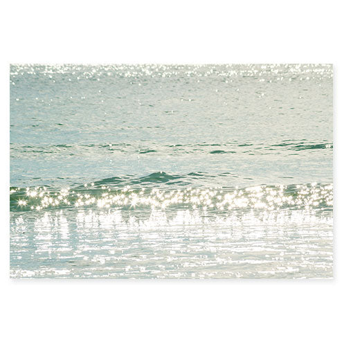 Ocean Waves No 15 - Fine art water prints by Cattie Coyle Photography