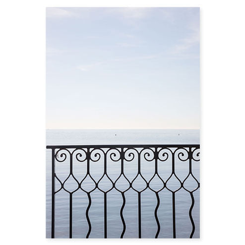 Quiet Morning - Mediterranean Sea wall art by Cattie Coyle Photography