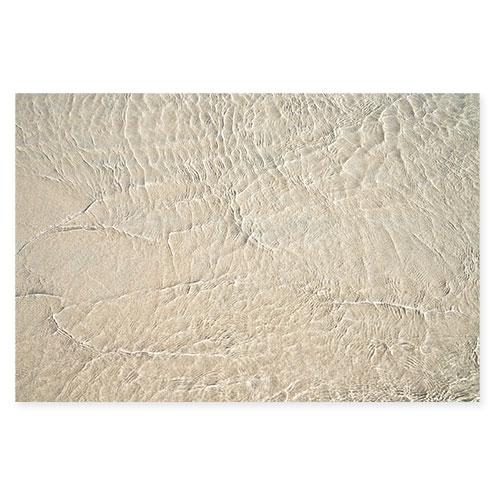 Shallow Water No 24 - Water ripples art print by Cattie Coyle Photography