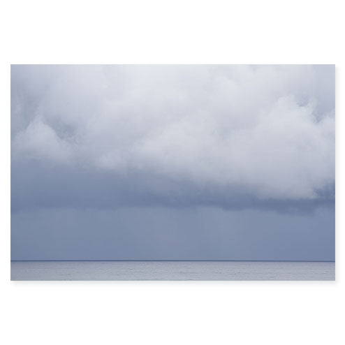 Summer Storm No 1 - Large cloud photography art print by Cattie Coyle