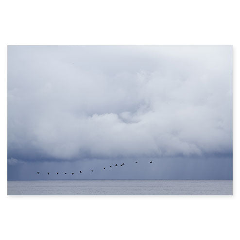 Summer Storm No. 4 Cloud Photography Art Print by Cattie Coyle Photography