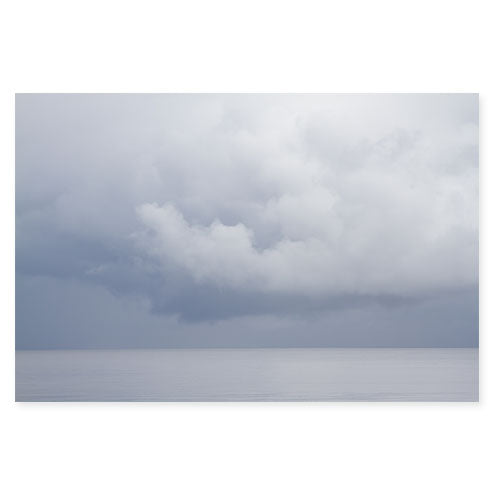 Summer Storm No. 8 Cloud Photography Art Print by Cattie Coyle Photography