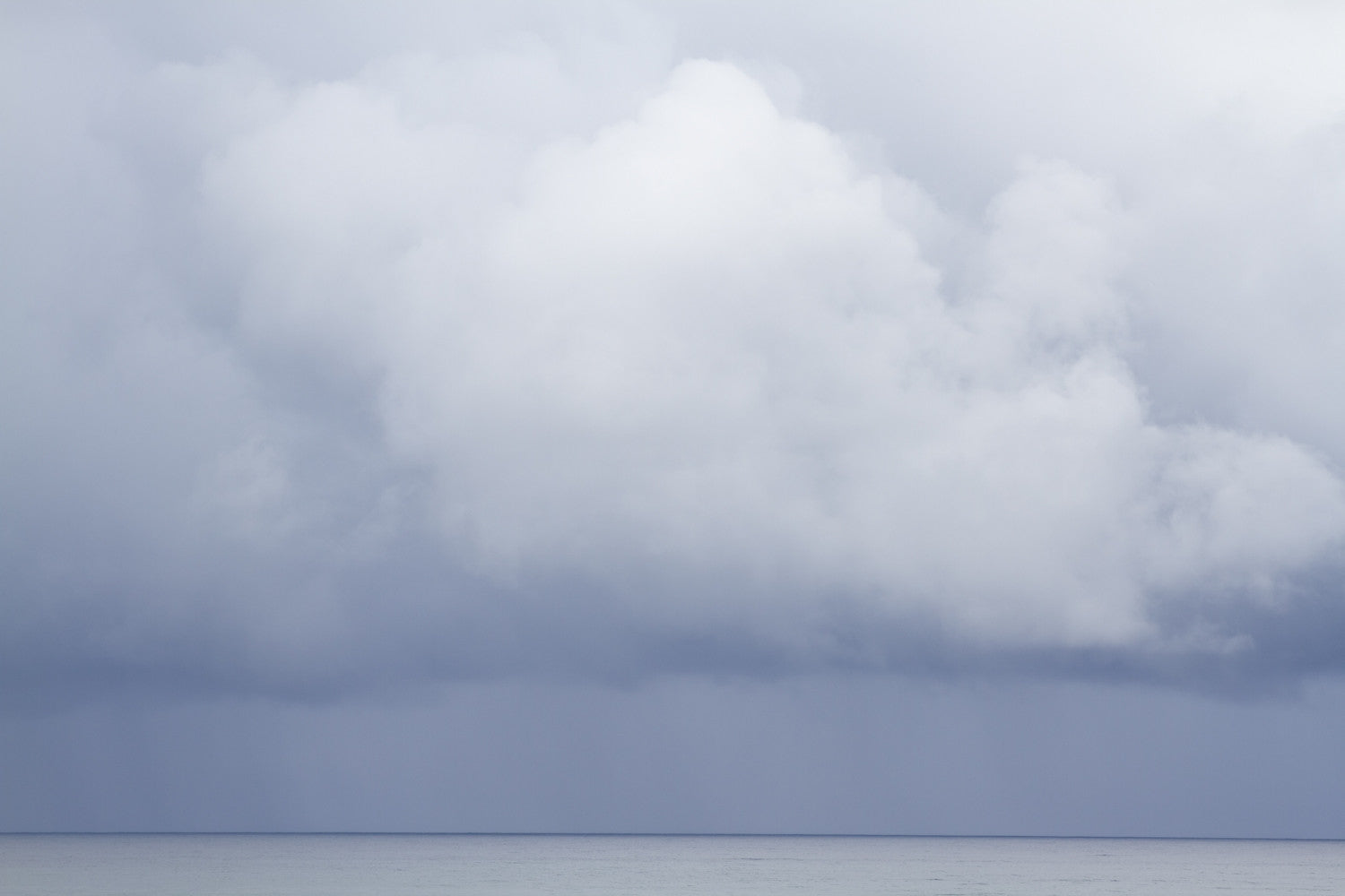 Summer Storm No. 3 Seascape Fine Art Photography Print by Cattie Coyle Photography