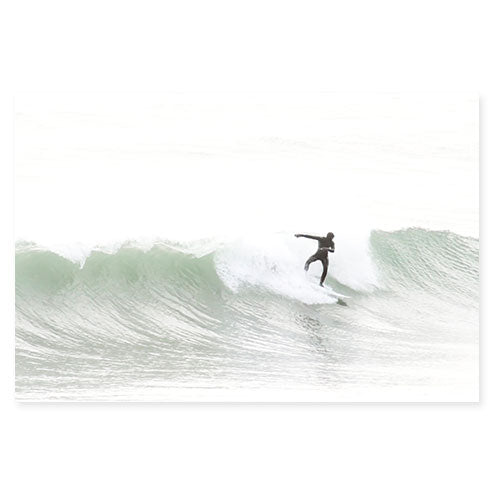 Surfing No 5 - Surfing photography art print by Cattie Coyle