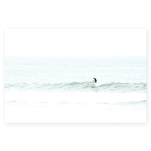 Surfing No 7 - Surf photography art print by Cattie Coyle