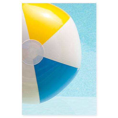 Swimming Pool No. 2 - Beach ball art by Cattie Coyle Photography