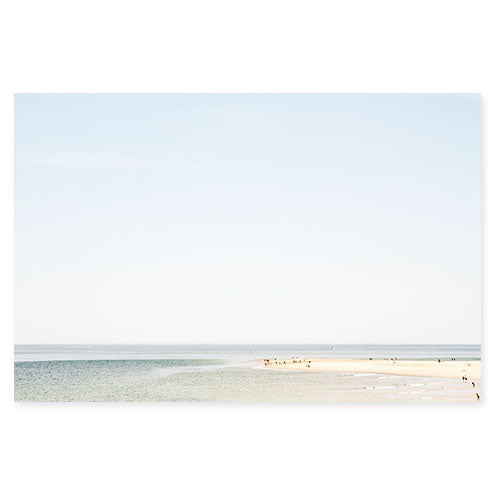 The Sandbar No. 2 Original Beach Photography Art Print by Cattie Coyle Photography