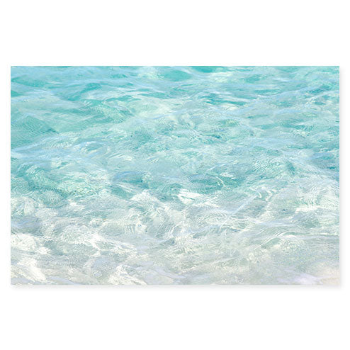 Turquoise Water - Ocean photography fine art print by Cattie Coyle Photography