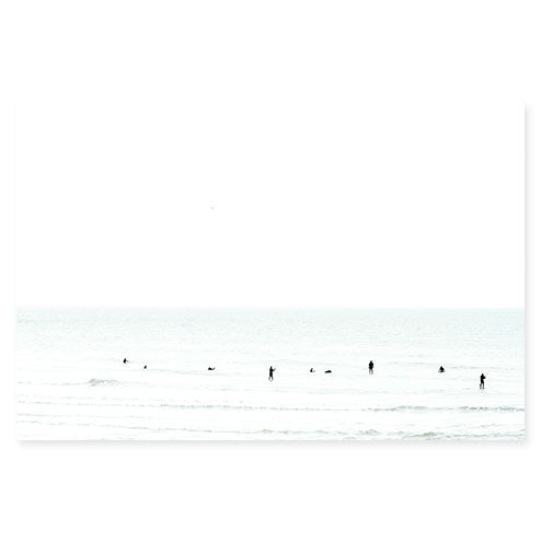 Waiting No. 1 - Surfing fine art print by Cattie Coyle Photography