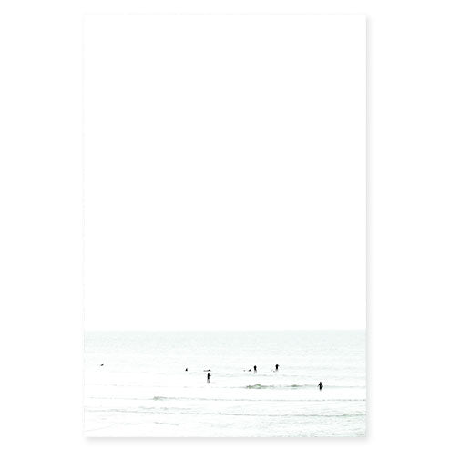 Waiting No. 5 - Large surfing fine art print by Cattie Coyle Photography