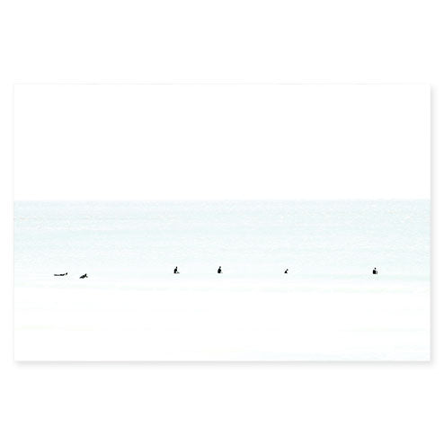 Waiting No. 7 - Large surfing photography art print by Cattie Coyle Photography