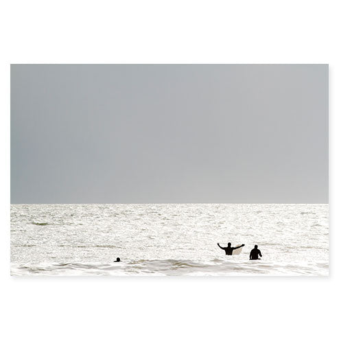 Surfing No. 1 - Large Surfer Photography Print by Cattie Coyle