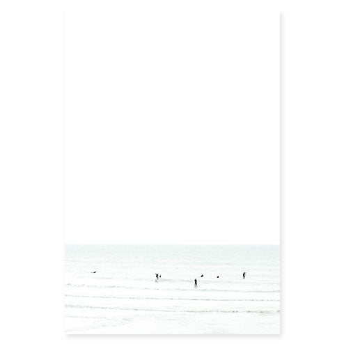 Waiting No 9 - Surfing photography art print by Cattie Coyle