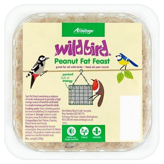 WILD BIRD FOOD & FEEDERS