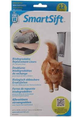 SMARTSIFT REPLACEMENT LINERS - FOR CAT PAN BASE - The Happy Dolphin Pets