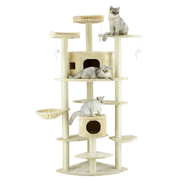 "Go Pet Club 84"" Cat Tree - Requires Assembly"