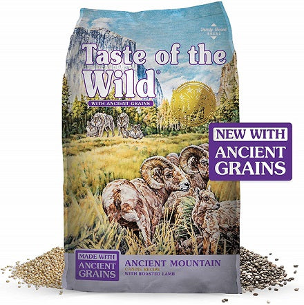 Ancient Mountain with lamb Dog Food - The Happy Dolphin Pets