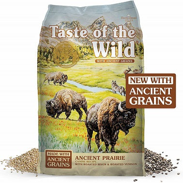 Ancient Prairie with bison and venison Dog Food - The Happy Dolphin Pets