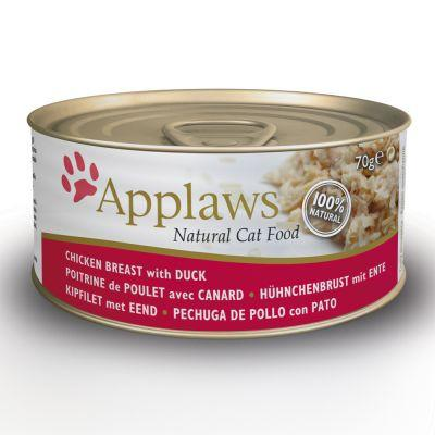 Applaws Cat Chicken & Duck 156g Tin - The Happy Dolphin Pets