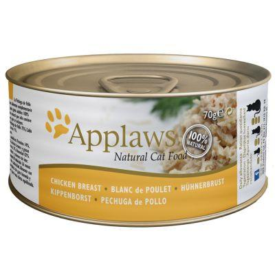 Applaws Cat Chicken 156g Tin - The Happy Dolphin Pets
