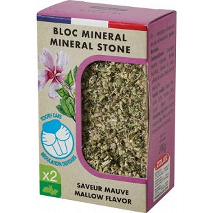Zolux Bloc Mineral Stone Mallow Flavor Small Animal Treats - Dubai