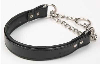 Rio Martingale Collar Black- Available in Different Sizes - The Happy Dolphin Pets