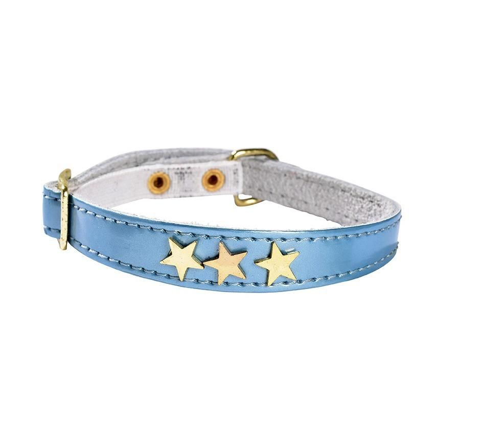 Bobby Etoiles Blue Cat Collar