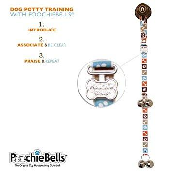Bon Appetite Brown PoochieBells Dog Potty DoorBell - The Happy Dolphin Pets