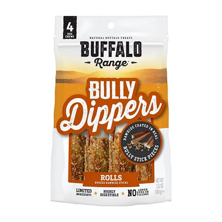 Buffalo Range Bully Dipped Roll For Dogs – Dubai Pet Shop