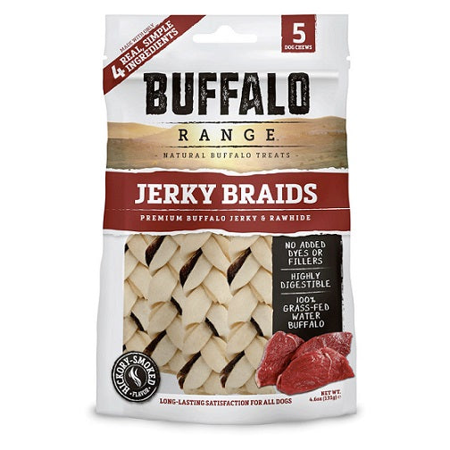 Buffalo Range Braid Rawhide Chews for Dogs – Dubai Pet Shop