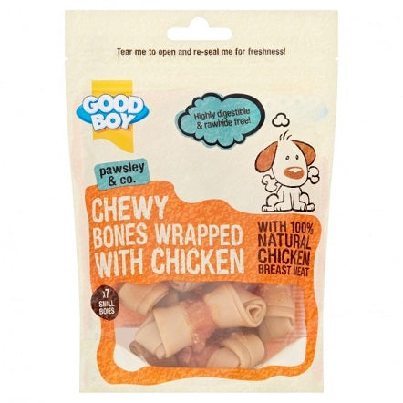 Armitage Good Boy Chicken Wrap Bone Mini Dog Treat (7 per bag) - The Happy Dolphin Pets