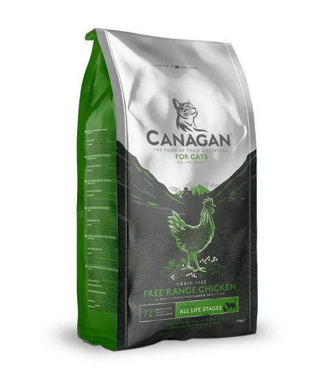 Canagan Free Range Chicken Grain-Free For Cats Dry Food - Dubai