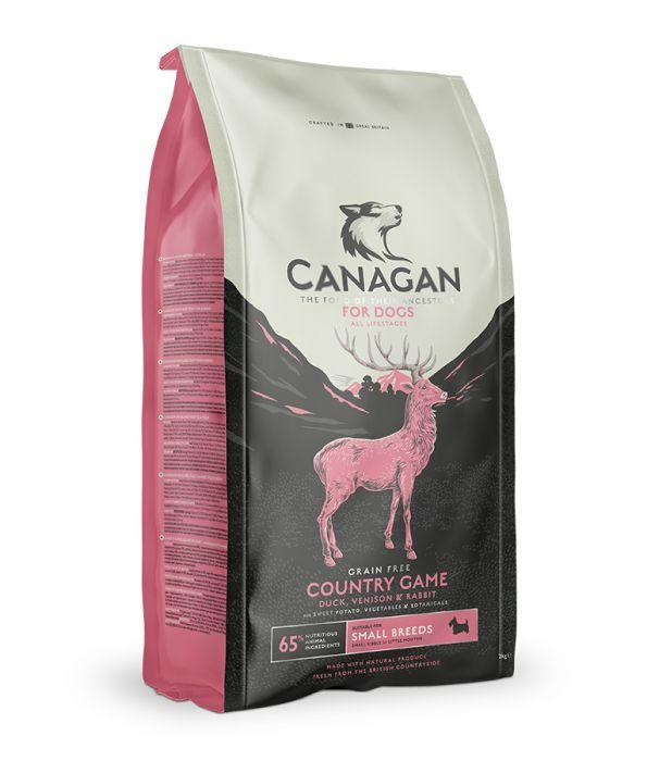 Canagan Country Game Small Breed Dog Food - The Happy Dolphin Pets