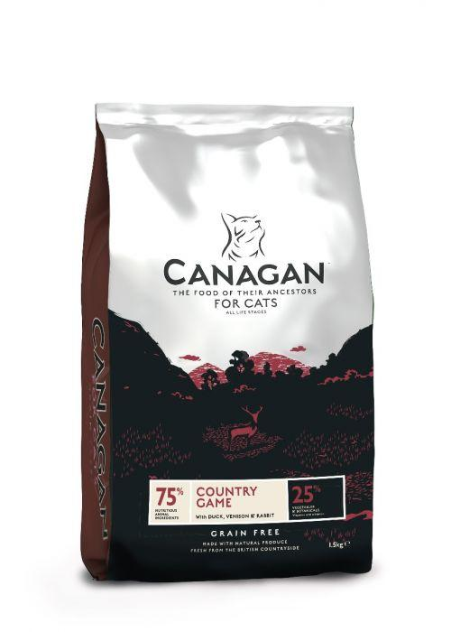Canagan Country Game for Cats Dry Food 4kg - The Happy Dolphin Pets