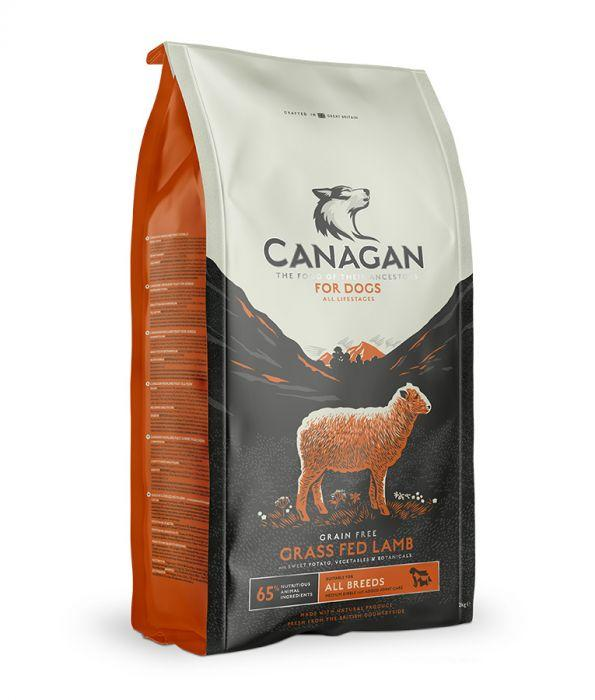 Canagan Grass-Fed Lamb Dogs Dry Food For All Lifestages 12kg - The Happy Dolphin Pets