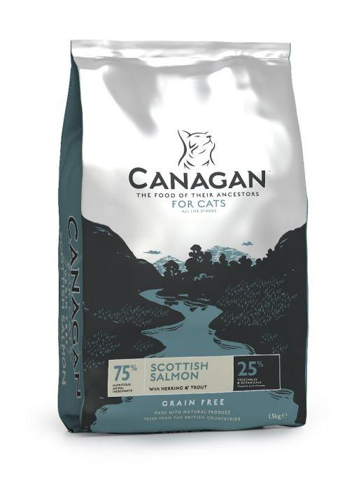Canagan Scottish Salmon for Cats Dry Food 4kg - The Happy Dolphin Pets