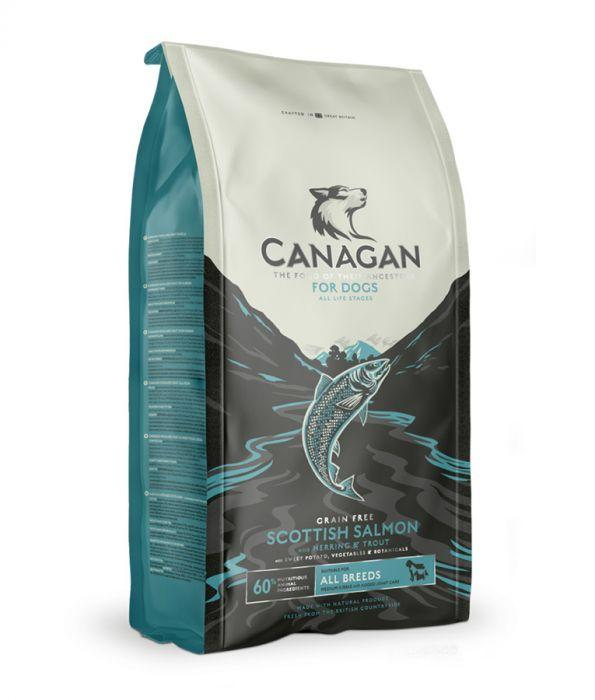 Canagan Scottish Salmon Dogs Dry Food For All Lifestages - The Happy Dolphin Pets