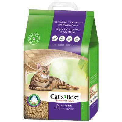Cat's Best Smart Pellets 5kg - The Happy Dolphin Pets